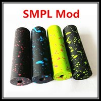 best connections - High Quality Splatter Colors SMPL Clone Mod Battery Vape Hybrid Connection Copper Contact Pin Best Fit Velocity Mini RDA Atomizer