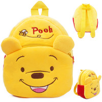 Wholesale 2016 New style Baby lovely cartoon Winnie the Pooh school bags kids cute Pooh design backpack boys and girls toys mini bags