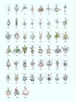 Wholesale 18kgp Fashion love wish pearl gem beads locket cages lovely DIY charm pendant mountings can mix different styles