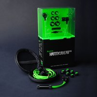 headphone pro - 100 Brand New Razer Hammerhead Pro Earphone Stereo In Ear Headphone PC Gaming Headset Bass In Ear Music With Mic and Retail box