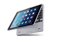 Wholesale 360 Swivel Rotating Stand Cover Case Bluetooth Keyboard For Apple iPad Air
