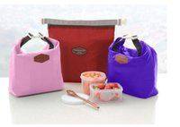 Wholesale Lunch Carry Bag Travel Outdoor Picnic Tote Container Cooler Insulated Thermal Waterproof Organizer Dinnerware Tool
