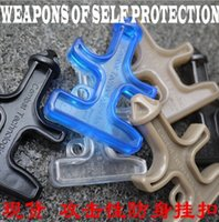 Wholesale 10pcs pack Nylon Plastic Steel Stinger Duron Self Defense Tactical Protection Tool Drill Key Chain