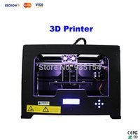 Cheap Free ship!! 3D Printer Creator X Dual Extruder printing machine Metal Frame Structure Works with ABS and PLA