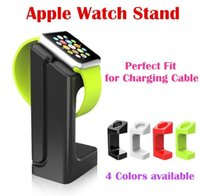 plastic magnetic - Apple Watch iWatch E7 Stand Magnetic Charge Dock Stander Holder Lazy Bracket Plastic Intelligent Display mm mm Charging Stand