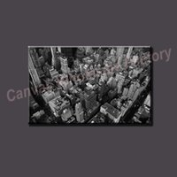 Wholesale Modern Home City Art Printed Painting Black and White Canvas Art Painting Digital Paintings on Canvas Unframed for the Home