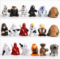 bags pack figure - 18pcs set Star Wars Mini PVC Action Figures Collectible Model Toys size in cm packed in opp bag