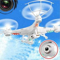 Wholesale New version SYMA X5C Original G CH Axis Remote Control RC Helicopter Quadcopter Toys Drone Ar Drone With MP HD Camera FJ