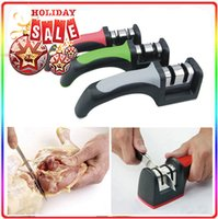 Wholesale Kitchen Knives Knife Sharpener Sharpening Tools Two Stages Diamond