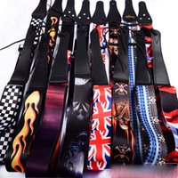 Wholesale Classic personality super good quality bass guitar strap electric guitar strap wooden Guitar General Instrument wg266