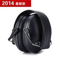 Wholesale IPSC Electronic Tactical Earmuffs Anti noise Shooting Hearing Protector Soundproof Ear Muff Protection A5