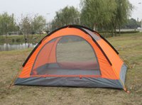 Wholesale Good quality Flytop double layer person season aluminum rod outdoor camping tent Topwind PLUS
