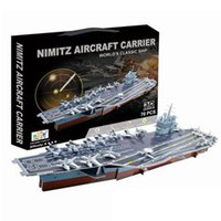 aircraft carrier games - 3D Educational Puzzle Nimitz Aircraft Carrier DIY Model Building Kit Jigsaw Games for Kids Adults