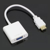 Wholesale HDMI to VGA Adapter Cheap HDMI to VGA Cable High quality micro hdmi to vga converter