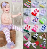 lace leg warmers - Baby Chevron Leg Warmer Baby Leg Warmers infant colorful leg warmer child socks Legging Tights Leg Warmers with lace Decor