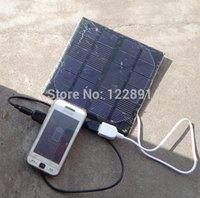оптовых панели солнечных ячеек оптового-Оптово-3W 6В Солнечное зарядное устройство монокристаллический солнечных батарей Панель солнечных батарей USB солнечной Автомобильное зарядное устройство для мобильного Power Bank зарядное устройство Бесплатная доставка