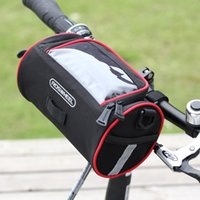 bicycle basket accessories - ROSWHEEL Waterproof Outdoor Cycling Bicycle Folding Bike Front Handlebar Bag Basket bike accessories