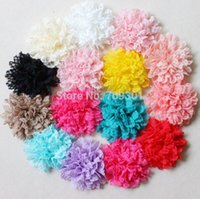 artificial selection animals - 3 quot lace flowers for headband hair accessory colors for selection