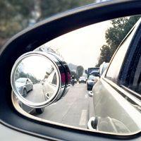 Precio de Venta al por mayor de la sombra auto-Shade Side Lluvia Guardia punto ciego de conducción mayor-2PCS / Set Ronda de visión trasera espejo convexo Vehículo Seguro Espejos Auto