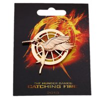 Wholesale Europe and America with a card quot Hunger Games Xinghuoliaoyuan quot parrot brooch Bird