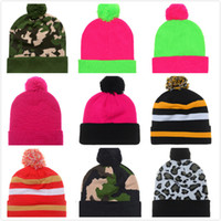 Wholesale Spring Autumn Fashion Men Knitted Winter Cap Casual Beanies for Men Solid Color Hip hop Slouch Skullies Unisex Hat Gorro