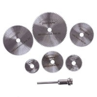 Wholesale New Hot Sale Rotary Tool Circular Saw Blades Cutting Discs Mandrel For Dremel Cutoff