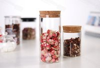 Wholesale hot sale mm mm coffee jar glassic jar put to locker easy to saving hot sale rose flower tea many things