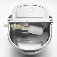 auto water bowl - AUTOMATIC WATER TROUGH STAINLESS STEEL BOWL AUTO FILL FOR DOG SHEEP CHICKEN
