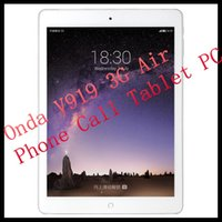onda wifi - Onda V919 G Air Phone Call Tablet PC Inch MTK8392 Octa Core GHz IPS x1536 Retina Android GB RAM GB ROM GPS WCDMA OTG