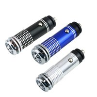 Wholesale 3PCS V Genuine Mini Auto Car Fresh Air Ionic Purifier Oxygen Bar Ozone Ionizer Cleaner