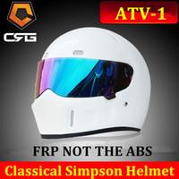 atv promotions - Hot Promotion Motorcycle Off Road Capacete Simpson Motorcycle Helmet Casco Protective Starwars FRP KARTING helmet ATV size CM