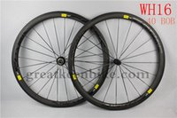 Wholesale basalt brake carbon fiber road bike wheels chinese carbon wheels cycling wheels carbon stickers bicycle wheels c