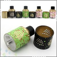 rda - Temple RDA ECig Rebuildable Atomizer Airflow Control mm Post Holes mm Dual Post Atty With Extra AFC Ring DHL Free