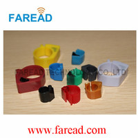 Wholesale FRD072 Electronic Foot Ring RFID dove foot ring animal management label tracking tag animal ID identification