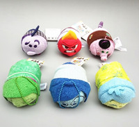 best big screen tv - New Tsum Tsum Inside out toy Mini cm Plush doll Toys Screen Cleaner Marvel Big hero juguetes doll key chain accessory best gift