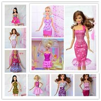 barbie doll clothes - items Mix Style Mix Color clothes evening dress For Barbie clothes for barbie doll doll accessories for barbie