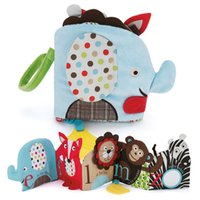 Wholesale Baby educational animal sack Toys freeshipping from USA high quality Baby Books