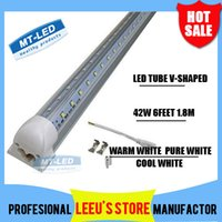 led t8 tube - Integrated Cooler Door ft m mm W Led T8 Tube SMD2835 High Bright light feet lm V fluorescent lighting
