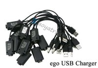 Wholesale High Quality EGO Charger USB Long Cable For EGO T K Vision Spinner Battery EVOD Twist Electronic Cigarette Kit