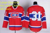 Ice Hockey hockey jersey - Carey Price Canadiens Premier Jersey Red Hockey Jerseys High Quality Ice Hockey Jerseys for Men Hot Sale Sports Jerseys Mix Order