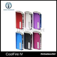 Cheap 2015 Innokin CoolFire IV 40W Battery Mod Cool Fire IV Express Kit 2000mah Innokin Coolfire 4 Box Mod 2201044 100% Authentic
