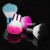 Wholesale pc New Colorful Nail tools Brush For Acrylic amp UV Gel Nail Art Dust Cleaner