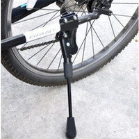bicycle rack accessories - 1pc Bike Racks Aluminum Alloy Cycling Bicycle Kickstand Stand Holder Bicycle Accessories B053