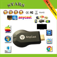 Wholesale 256M Anycast m2 iii ezcast miracast google chromecast hdmi p tv stick wifi Display Receiver dongle for windows ios andriod