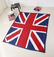 Wholesale New type British and American flag summer quilt