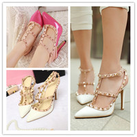 high heel sandals - 2015 Women And Big Girl s High heeled Sandals Sexy Women High heeled Women Rivet Wear Cusp high heeled Shoes B