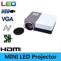 Wholesale full hd D GM50 HD Home Theater Mini LED TV Projector Beamer SD HDMI VGA AV USB Power Bank video projectors
