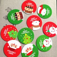 Wholesale 100 Assorted Merry Christmas X mas Gift Tag Hang Tag Decorate Labels CH5041923