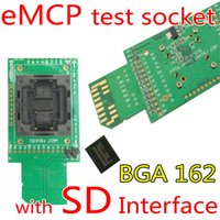 electrical plugs and sockets - eMCP test socket with SD interface for BGA and BGA size x16mm eMCP programmer socket for data recovery