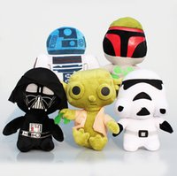 animal war games - New Star Wars Plush Toy Cartoon Super Deformed Boba Yoda robot Stormtrooper Stuffed Animals Soft Doll Toy inch stlys